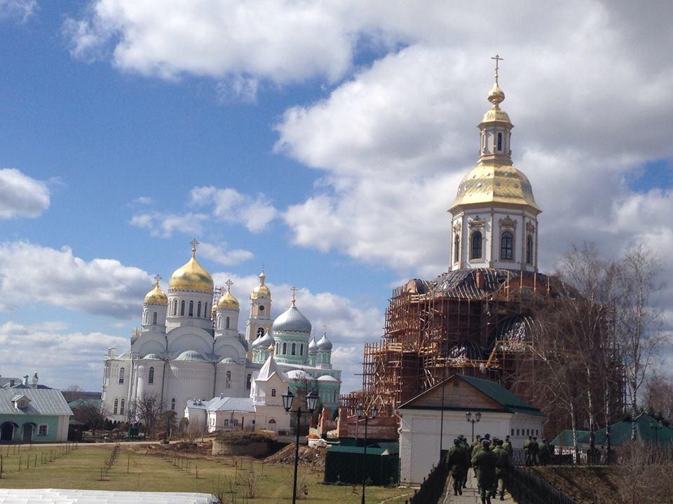 первое, что дивеевский монастырь фото благовещенский собор пейзажи